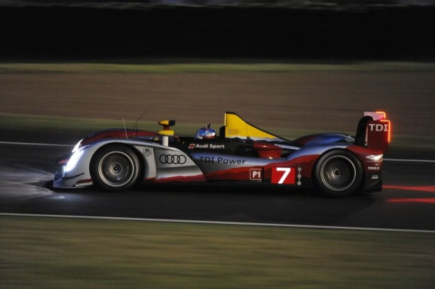 """Le Mans 24h"" lenktynių treniruotė"