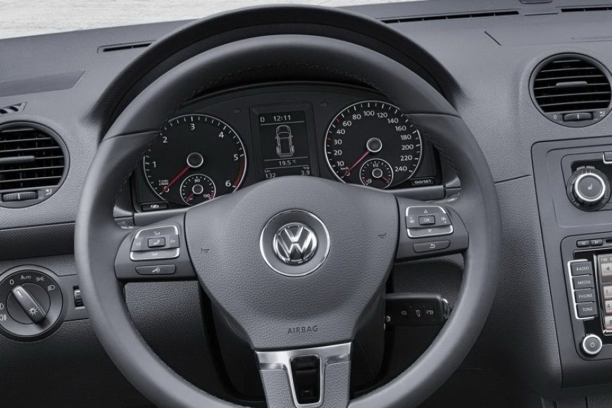 """Volkswagen Caddy"" atnaujinimas"