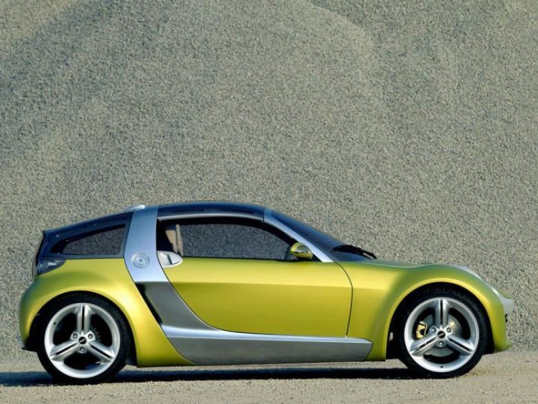"""Smart Roadster Coupe"""