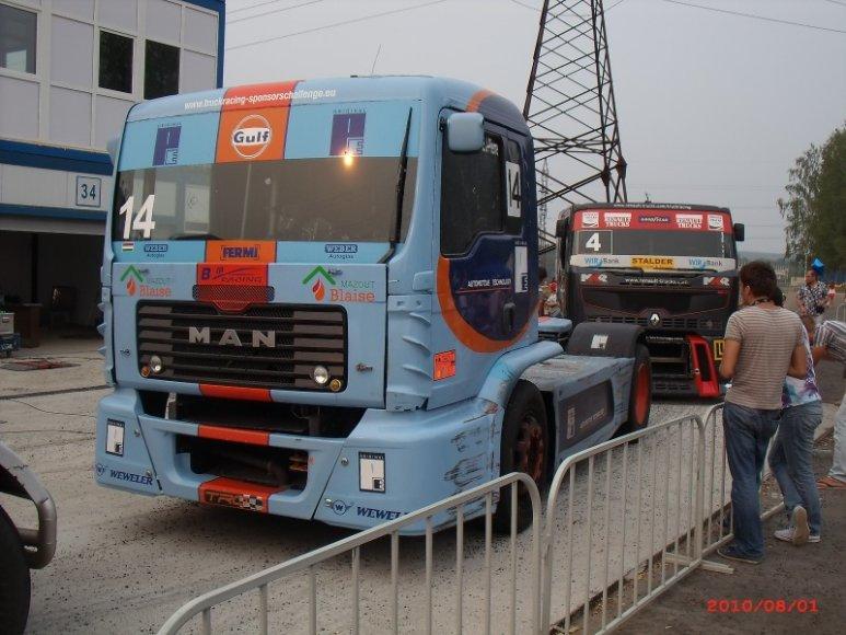 Šeštas Europos sunkvežimių žiedinių lenktynių etapas Smolenske