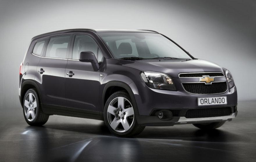"""""""Chevrolet Orlando"""" minivenas skirtas tik Europai"""