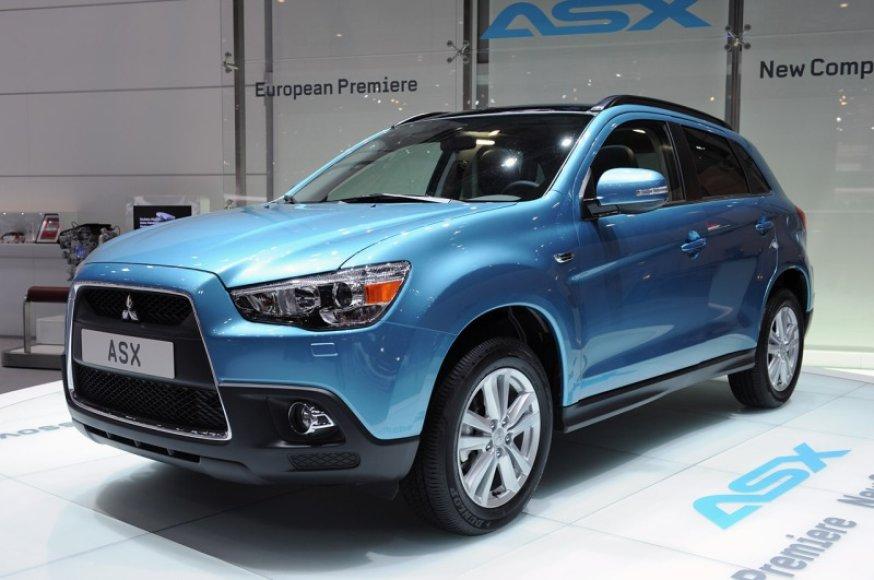 """Mitsubishi ASX"" premjera"