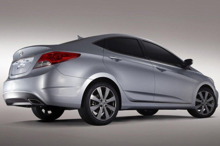 """""""Hyundai RB"""" – mažo sedano Rytų rinkoms konceptas"""