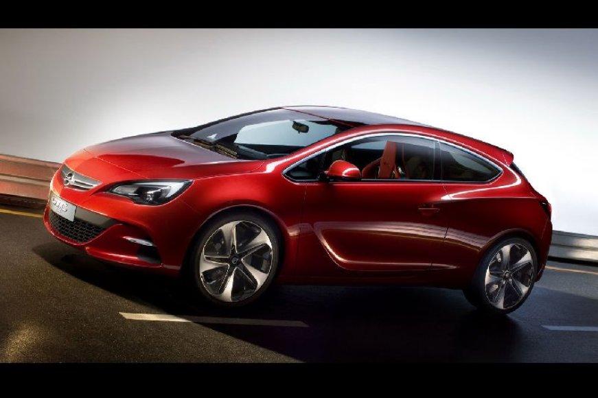 """Opel Astra GTC"" eina į kartų hečbekų mūšį"