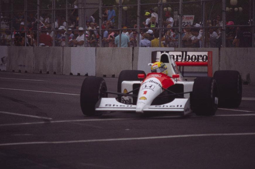 Ayrtonas Senna 1991 metų čempionate