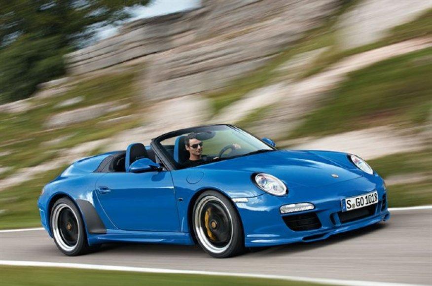 "Dar vienas ""Porsche 911"" – kabrioletas ""Speedster"""