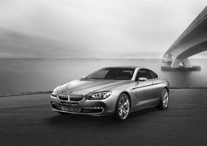 Štai kaip atrodys naujasis BMW 6-os serijos kupė