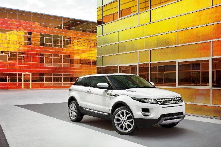 """Range Rover Evoque"" premjera – 2011 metų antroje pusėje"