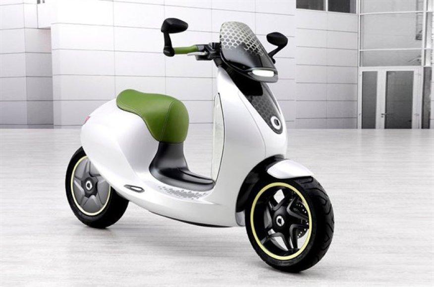 """""""Smart Escooter"""" – žingsnis į priekį"""
