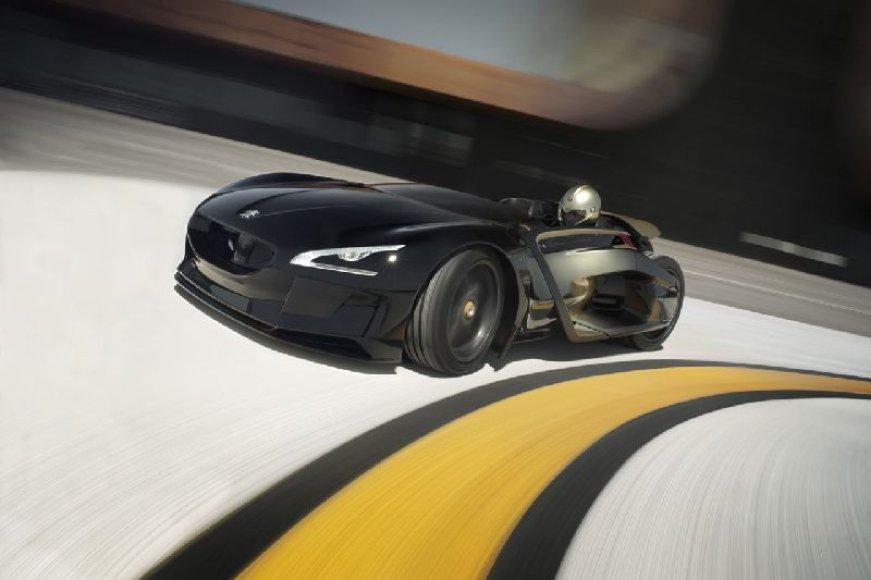 """Peugeot EX1"" rengiasi elektriniam rytojui"