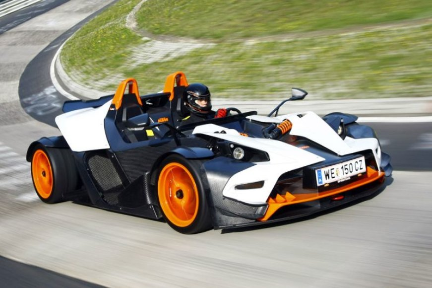 """KTM X–Bow R"" turės 300 Ag variklį"