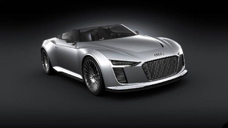 """Paryžius. """"Audi e–tron Spyder"""""""