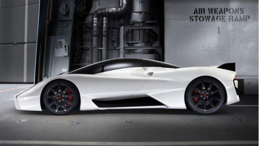 """""""SSC Ultimate Aero II"""" pagamintas tapti greičiausiu automobiliu pasaulyje"""