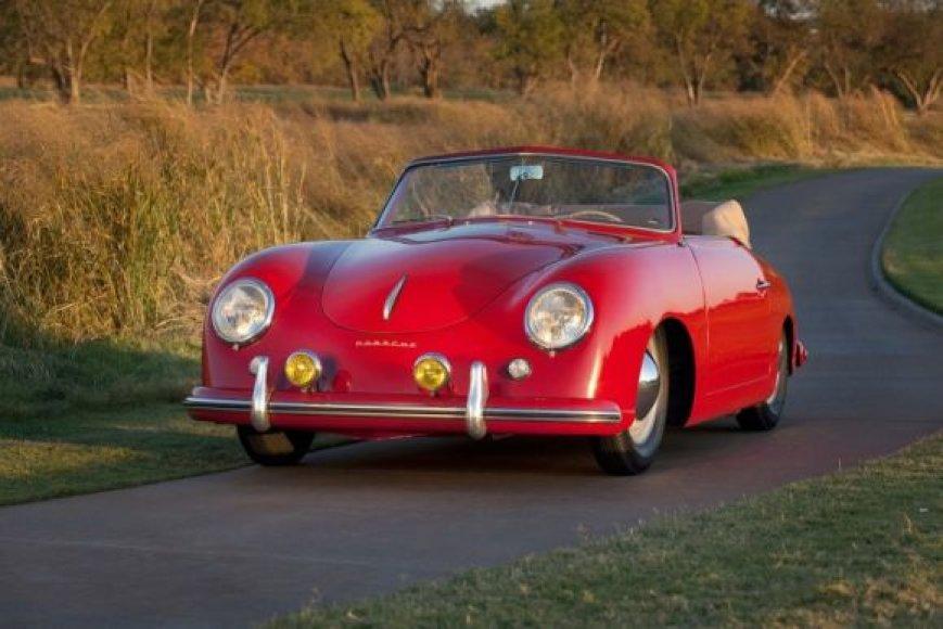 """Seniausas """"Porsche"""" JAV – 1952 metų 356 kabrioletas"""