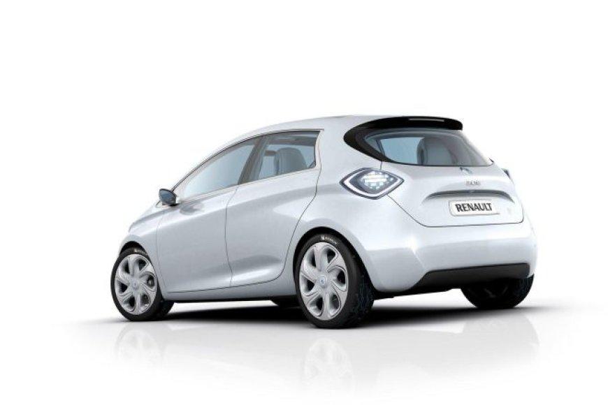 """""""Renault Zoe"""" elektromobilis"""