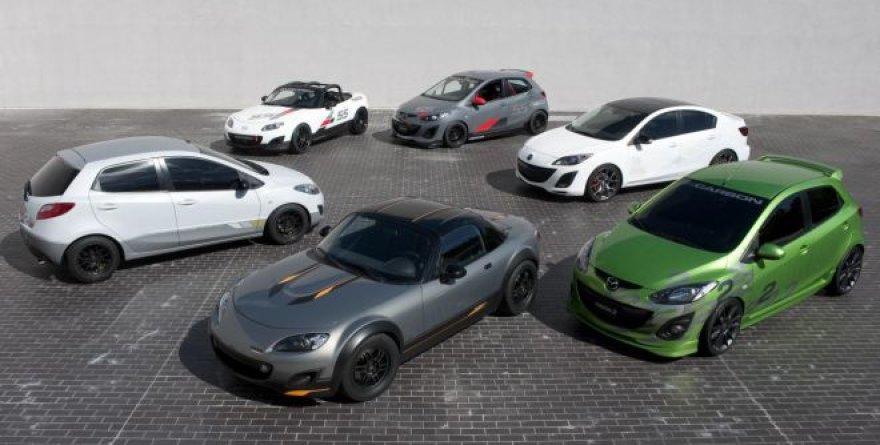 """Mazda"" automobiliai SEMA parodoje"