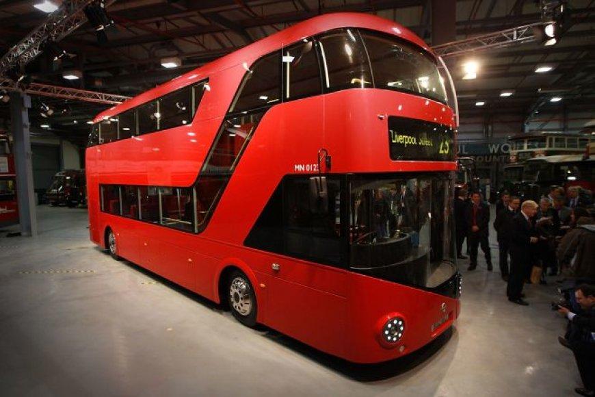 """Naujasis Londono """"doubledecker"""" autobusas"""