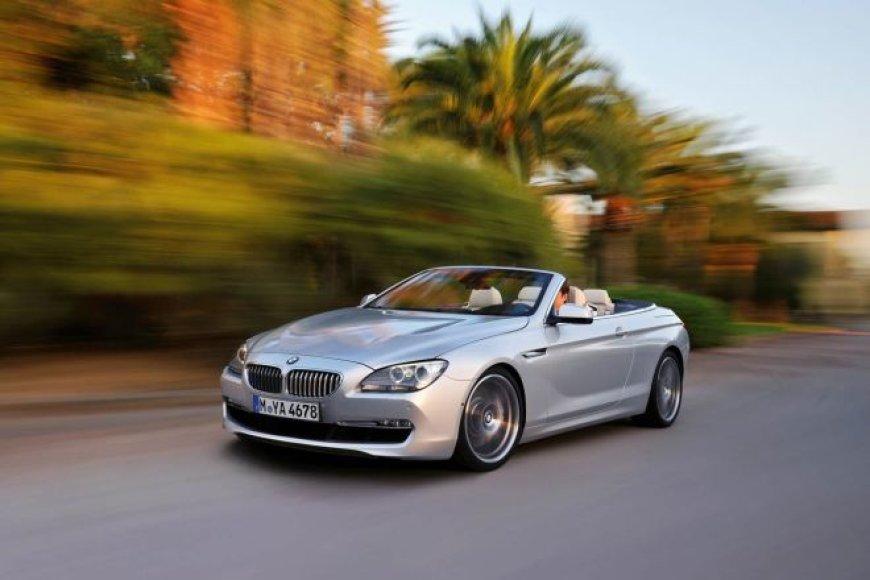 BMW 6-os serijos kabrioletas