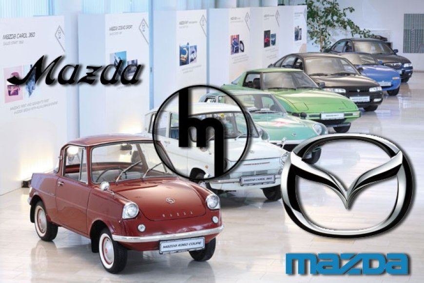 """Mazda"" ženklelio evoliucija"