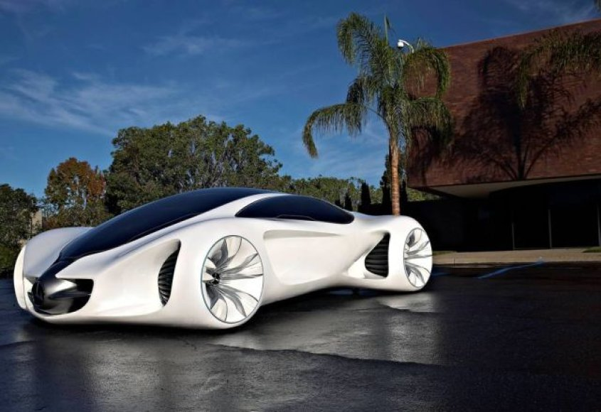 """Mercedes-Benz Biome"" koncepcija"