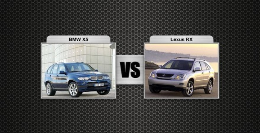 BMW X5 prieš Lexus RX