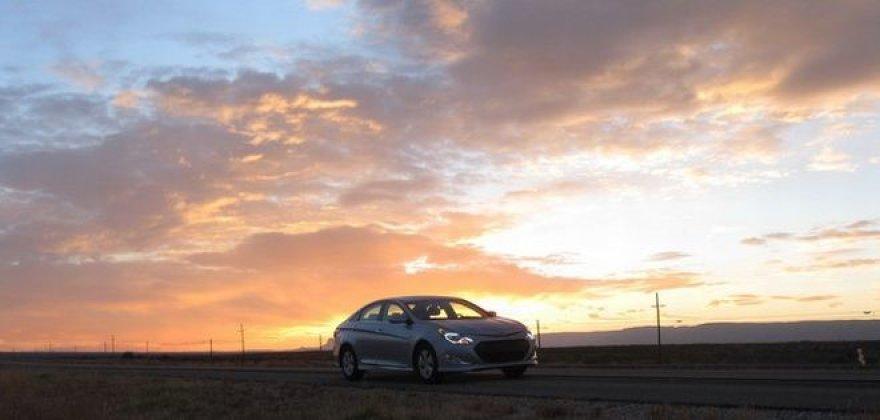 """Hyundai Sonata Hybrid"" ekonominis žygis"