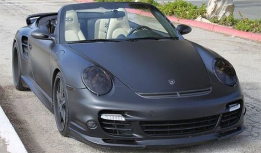 """Davido Beckhamo """"Porsche 911 Turbo Cabriolet"""""""