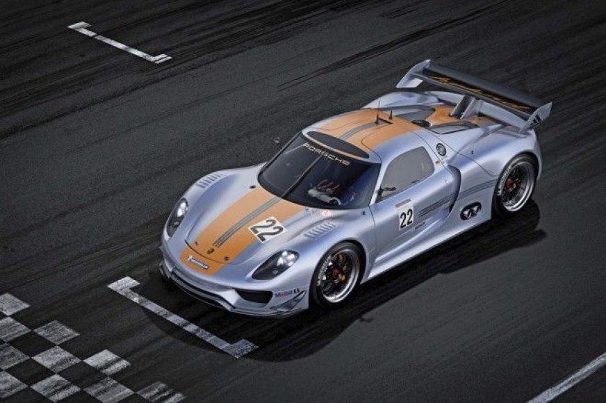 """""""Porsche 918 RSR Hybrid"""" yra tikrų tikriausias šedevras!"""