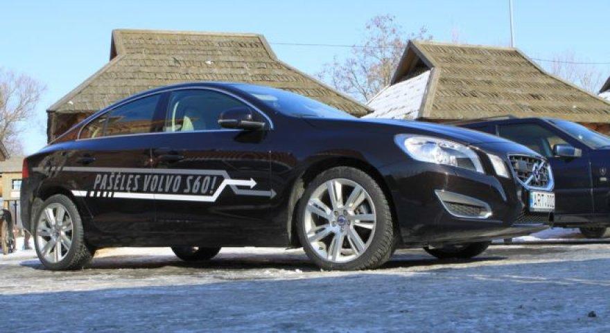 """""""Volvo S60"""" ir Autovikingų susitikimas"""