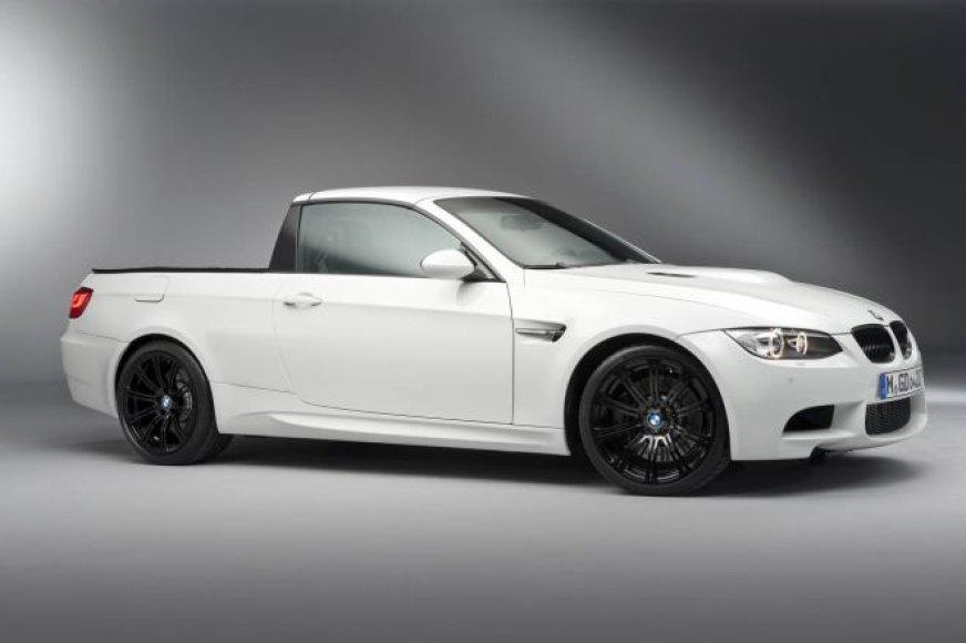 """""""BMW M3 Pick-up"""" – vienintelis toks"""