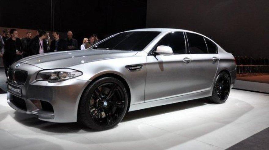 """""""BMW Concept M5"""" – nuotraukos, kurių neturėjote pamatyti"""
