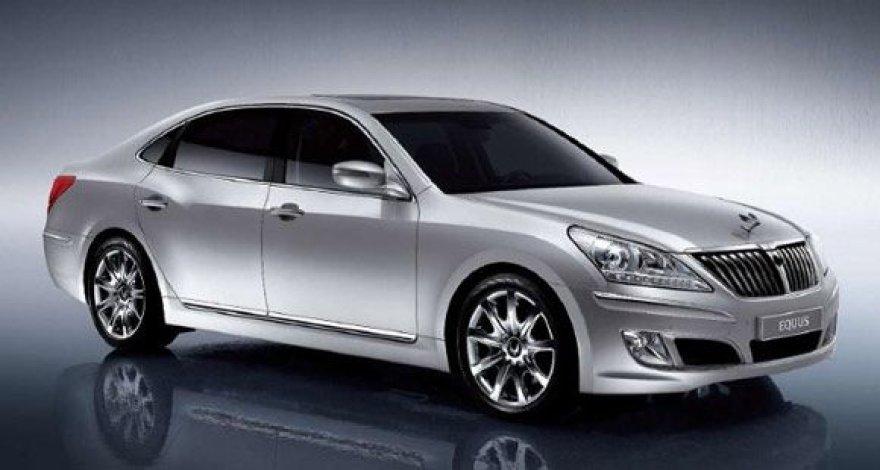 """Prabangiausias """"Hyundai"""" automobilis - """"Equus"""""""