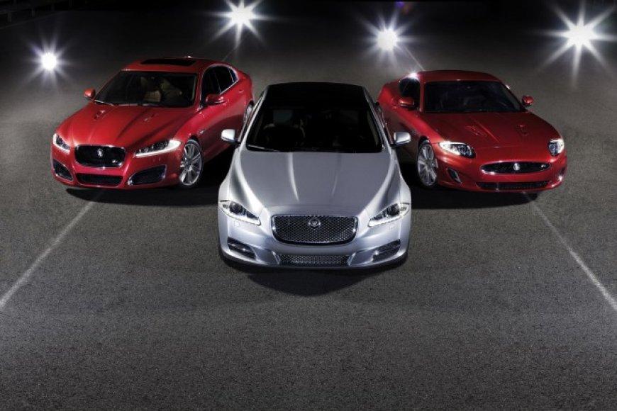 """Atnaujinti """"Jaguar"""" XK ir XJ modeliai"""