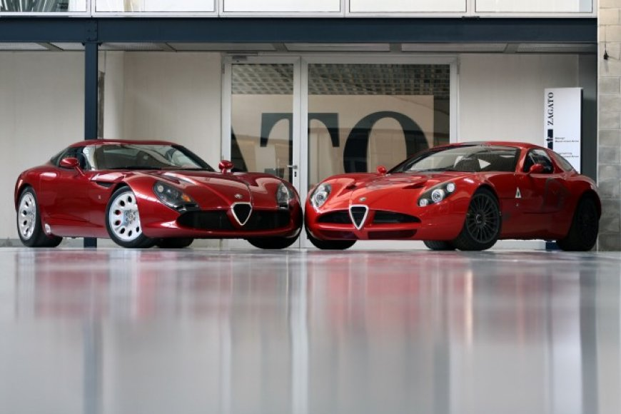"""Zagato"" sukurtas – ""Alfa Romeo TZ3 Stradale"""