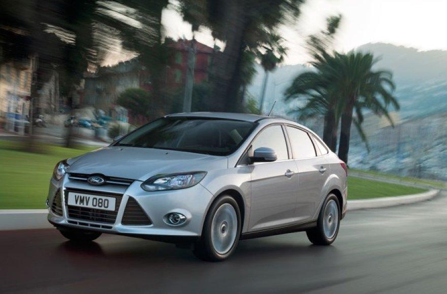 """Naujasis """"Ford Focus"""" jau Lietuvoje"""