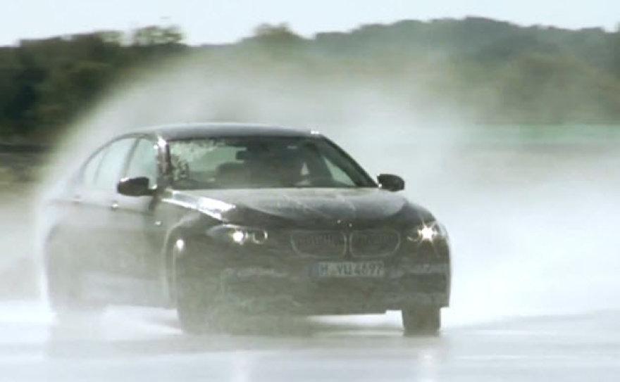 BMW M5 bandymai