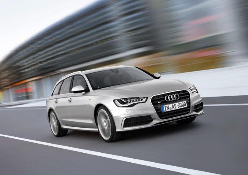 """""""Audi A6 Avant"""" – svajonių automobilis tapo praktišku"""