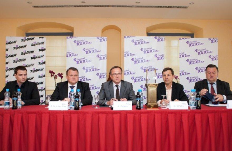 """Omnitel 1000 km lenktynių"" spaudos konferencija"