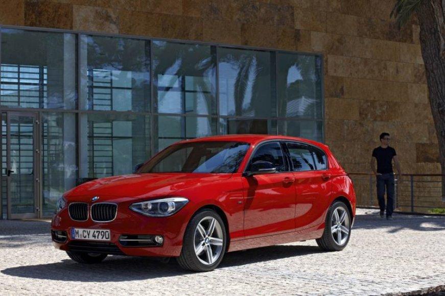Antros kartos 1-os klasės BMW