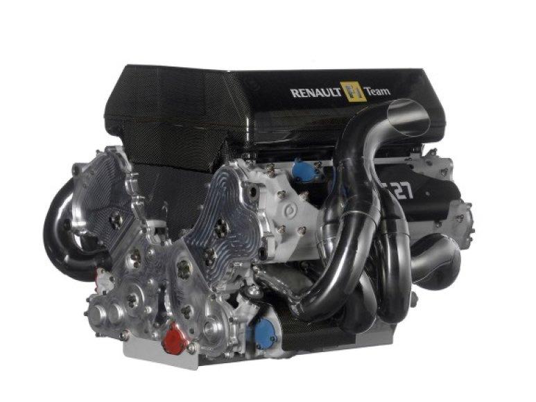 """""""Renault Formula-1"""" variklis"""