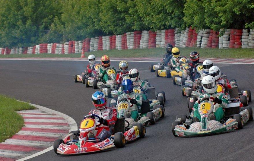 Kartingų lenktynės Lenkijoje