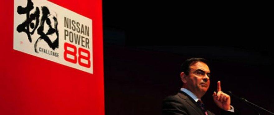 """""""Nissan"""" planas """"Power 88"""" – po naują automobilį kas šešias savaites šešis metus!"""