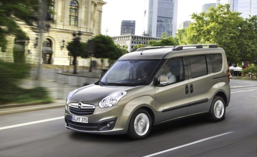 """Naujasis """"Opel Combo"""""""