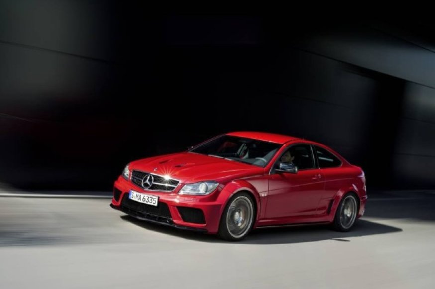 """""""Mercedes-Benz C 63 AMG Coupe Black Edition"""""""