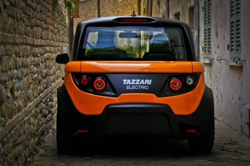 """""""Tazzari Zero"""" elektromobilis"""