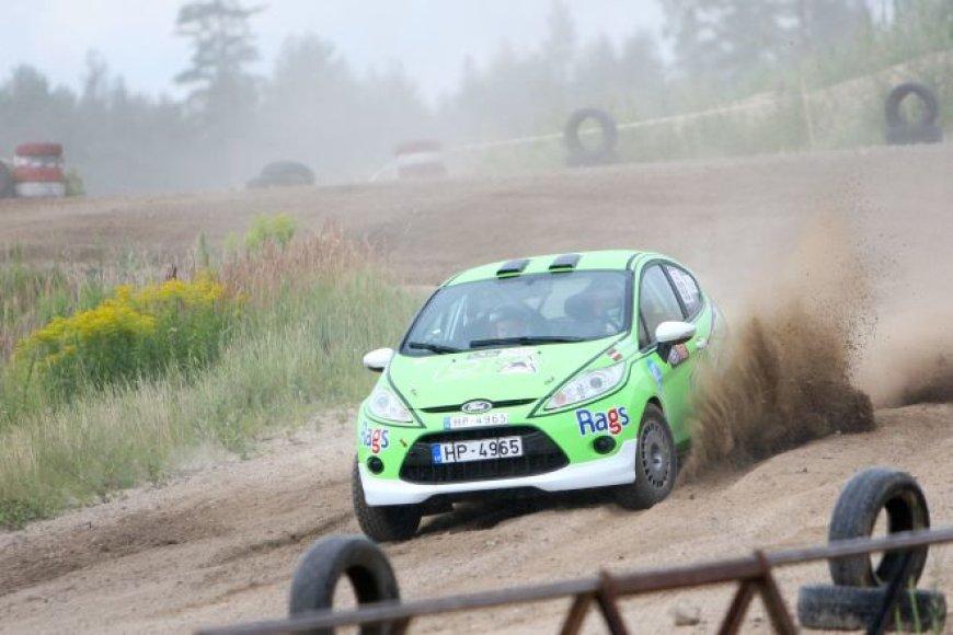 """Ford Fiesta R2"" – Lietuvoje nematytas ralio automobilis"
