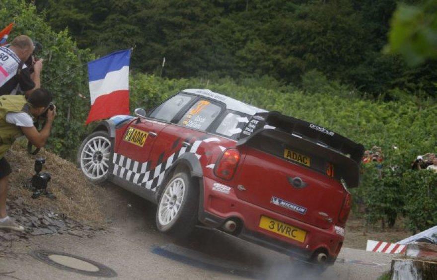 WRC etapas Vokietijoje