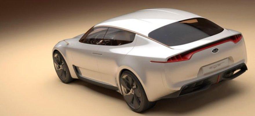 """""""KIA GT Concept"""" – 400 AG į galinius ratus"""