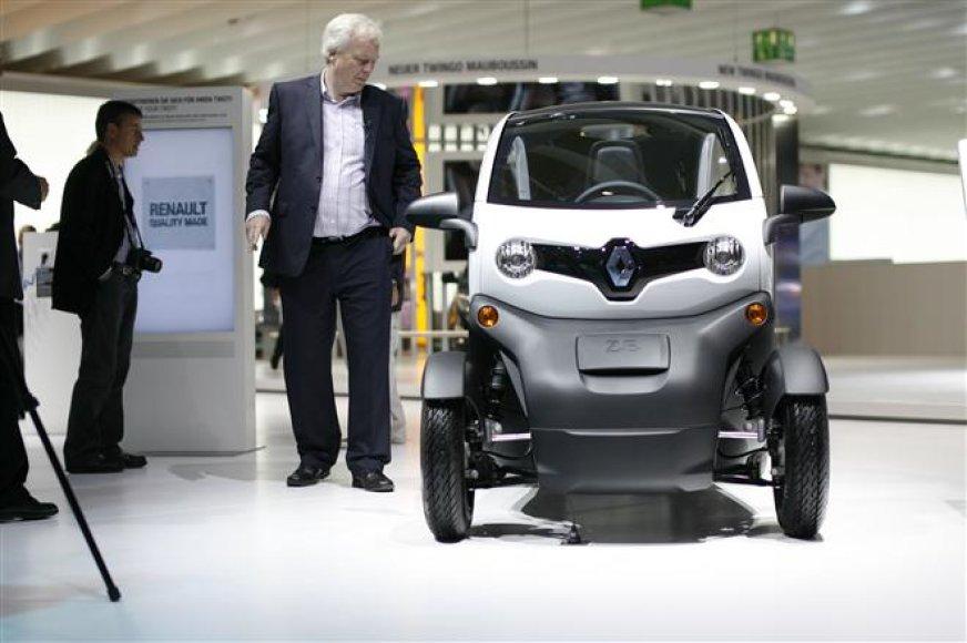 """""""Renault Twizy"""" – naujo segmento pradininkas"""