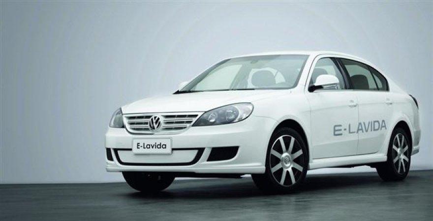 """""""Volkswagen E-Lavida"""" elektromobilis Kinijos rinkai"""